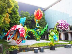 草間彌生 幻の華 松本市美術館