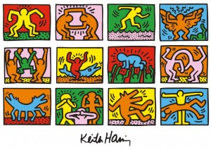 出典https://eccvisualarts.files.wordpress.com/2013/01/keith-haring-art.jpg