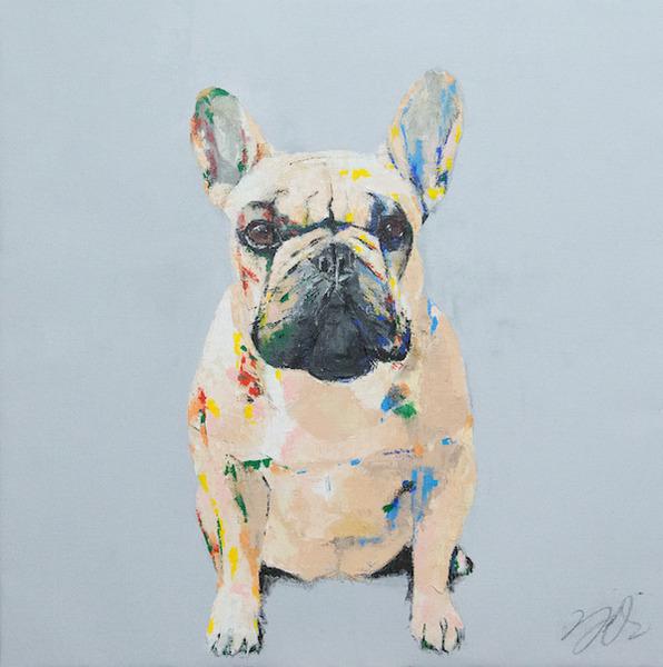 犬 オーダーメイド  肖像画
