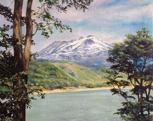 富士山 絵