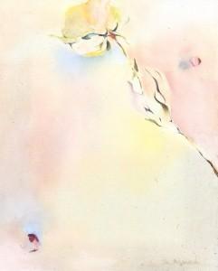 花 絵 抽象画