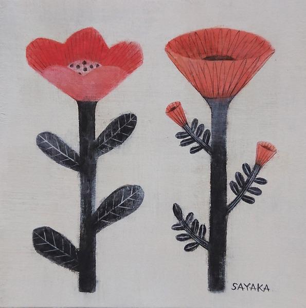 インテリア 花 絵