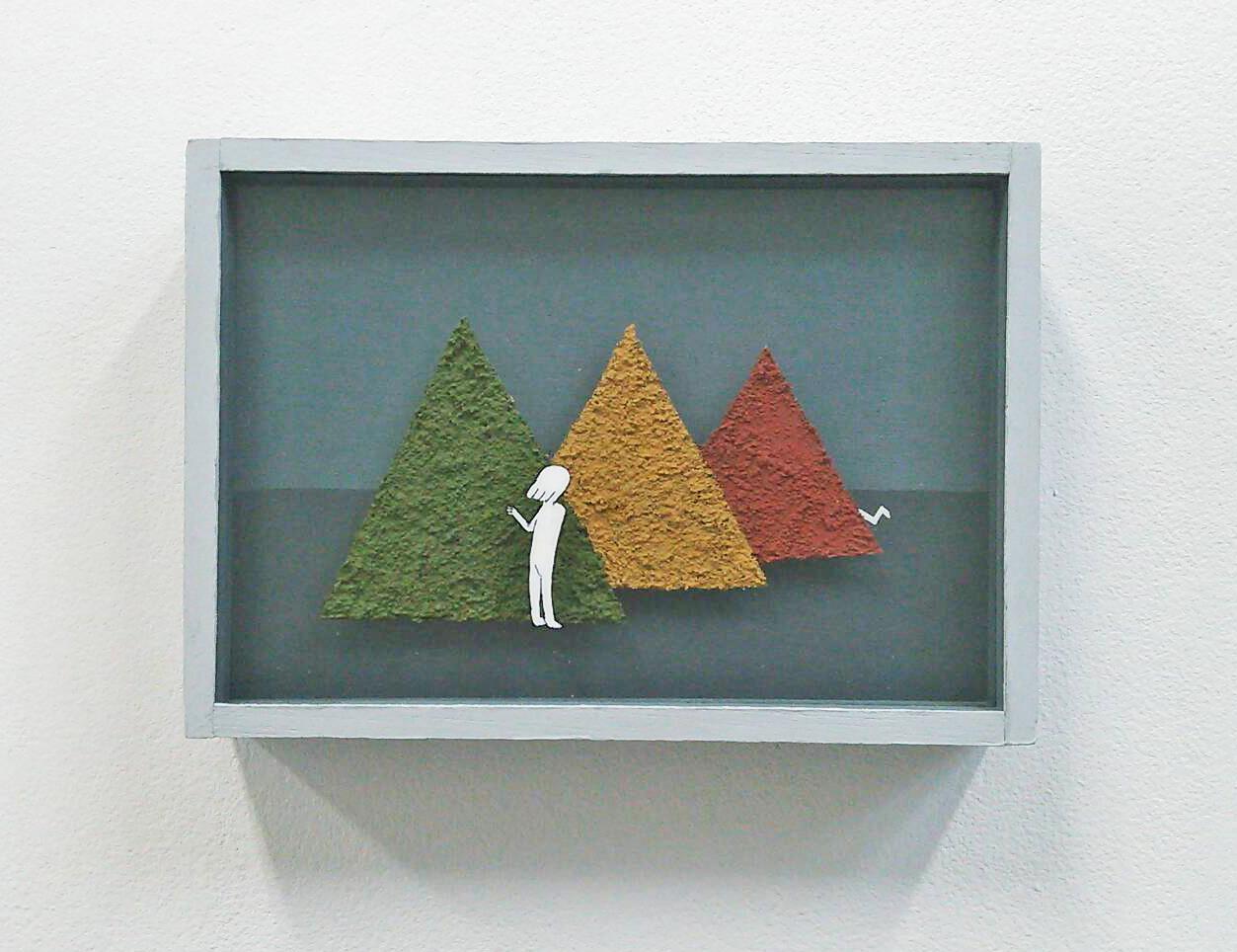 「ふたり(山)」/坂本渓花