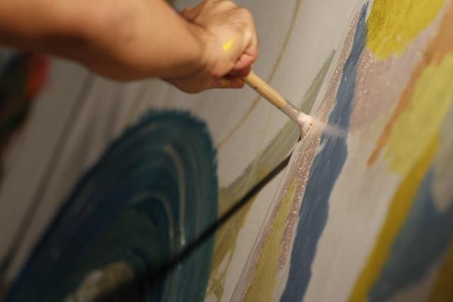 絵画 インテリア 飾る