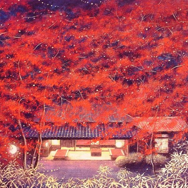 紅葉 絵画