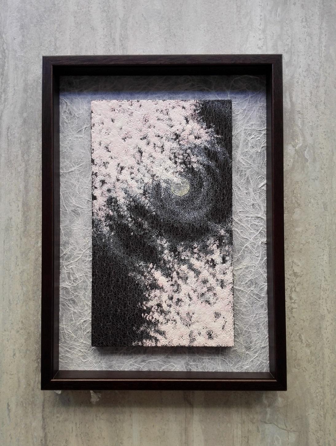 「憂い(月夜桜の花)」/ますだ美砂