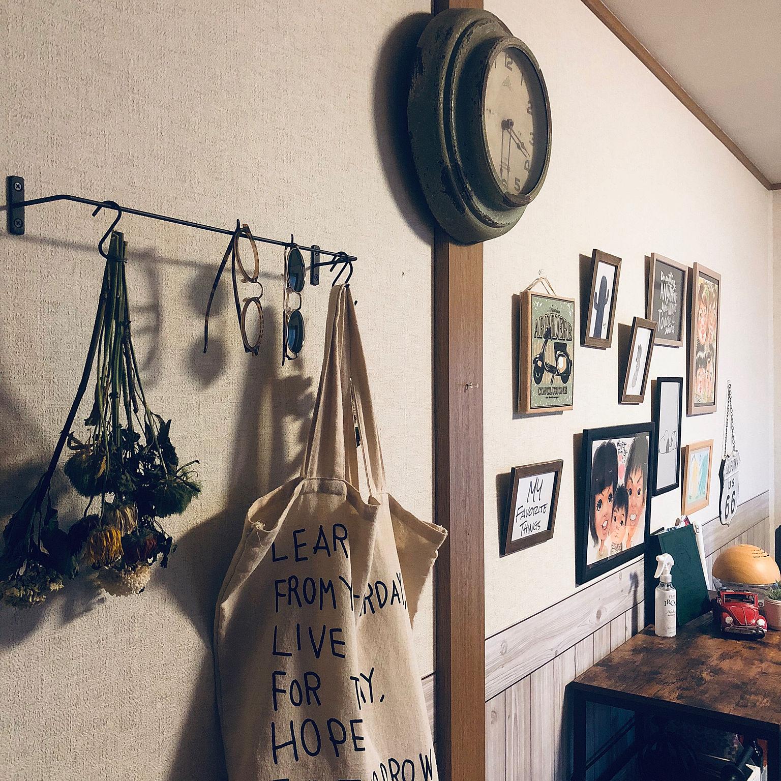 賃貸でも安心 簡単にできる壁を飾るインテリアのアイデア 雑貨まとめ