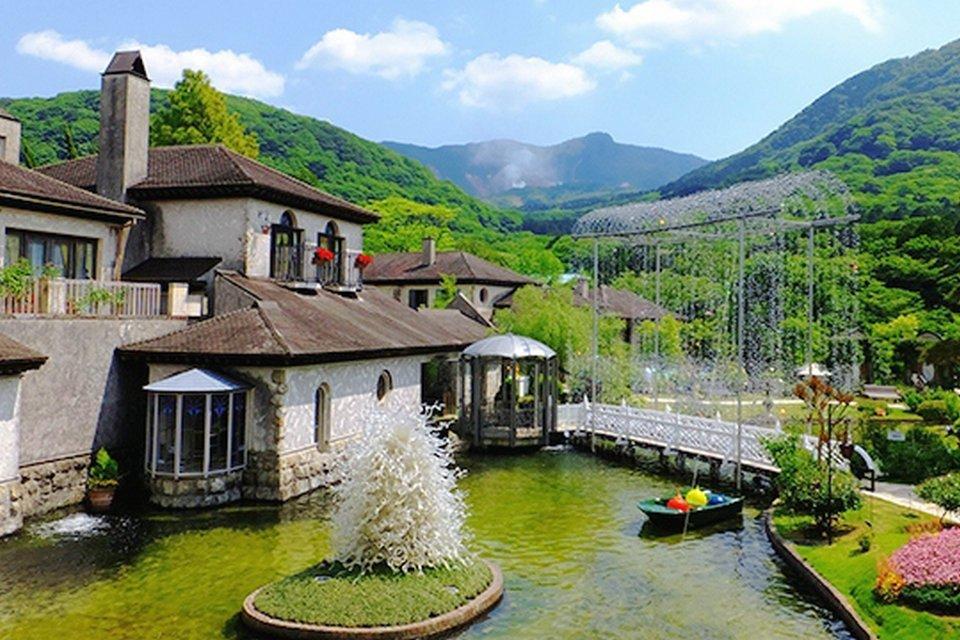 箱根の美術館