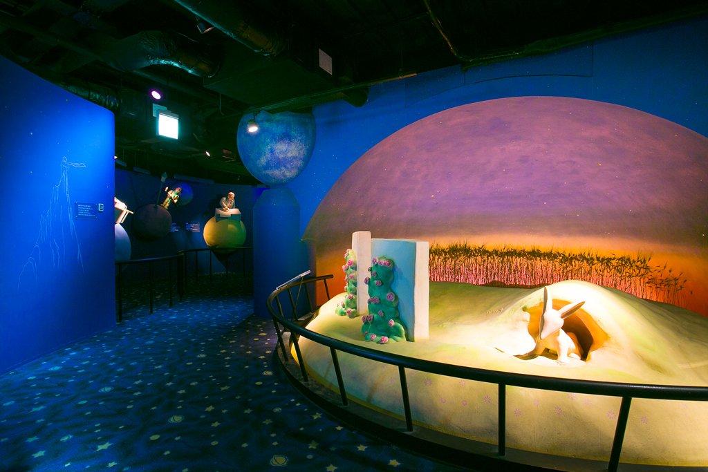 星の王子さまミュージアム館内