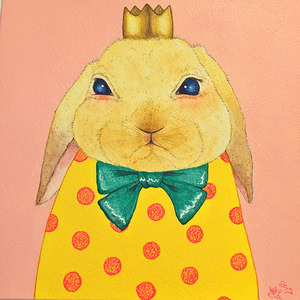 「King#2(Rabbit)」