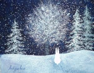 「雪の降る夜」