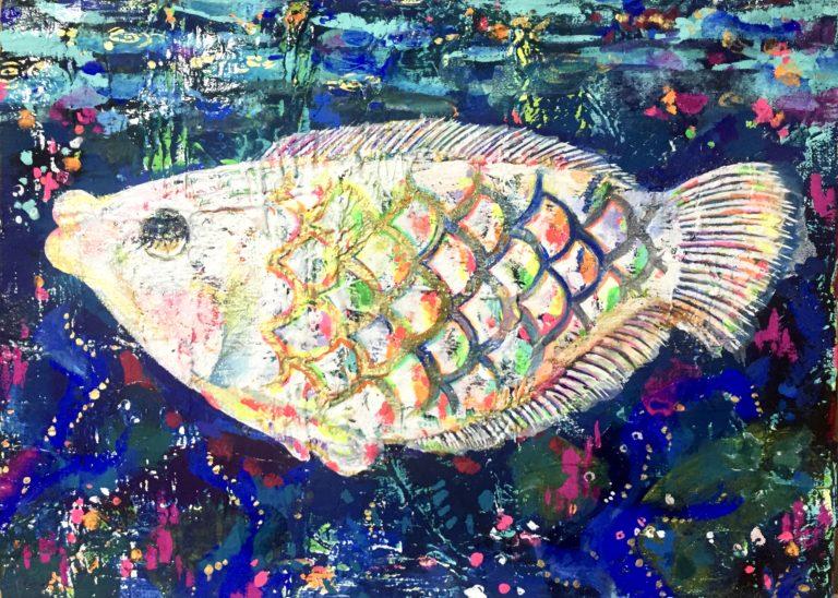 「夢の魚#2」