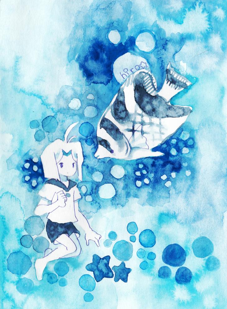 「青とおさかな2」