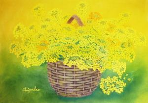 「篭の菜の花」