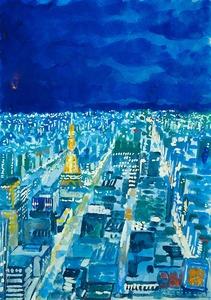 「札幌 冬の夜」