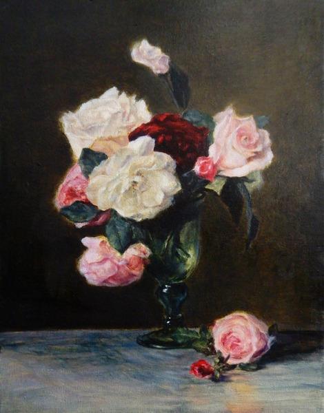 「Vase of flowers」