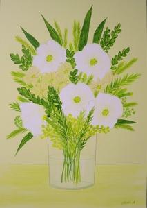 「白い花」