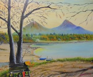 「裏磐梯桧原湖の秋」