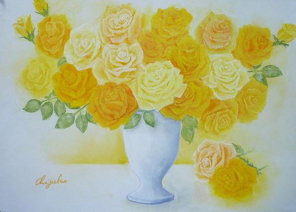 「黄色い薔薇」