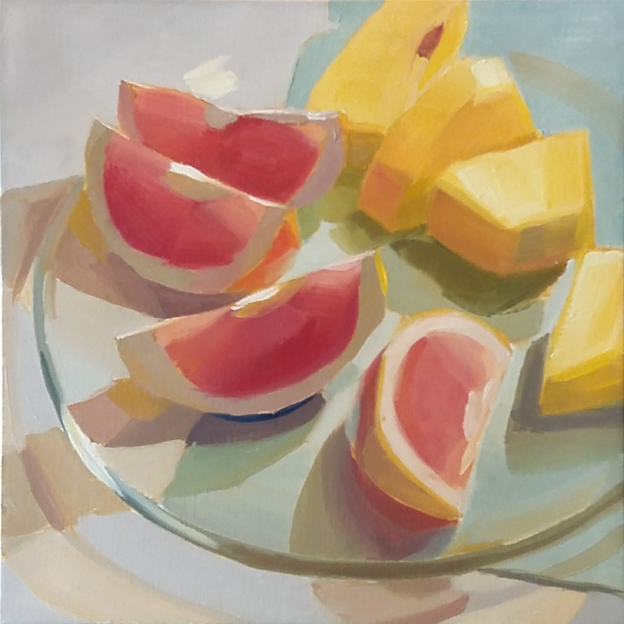 「Grapefruits and Pineapple...」