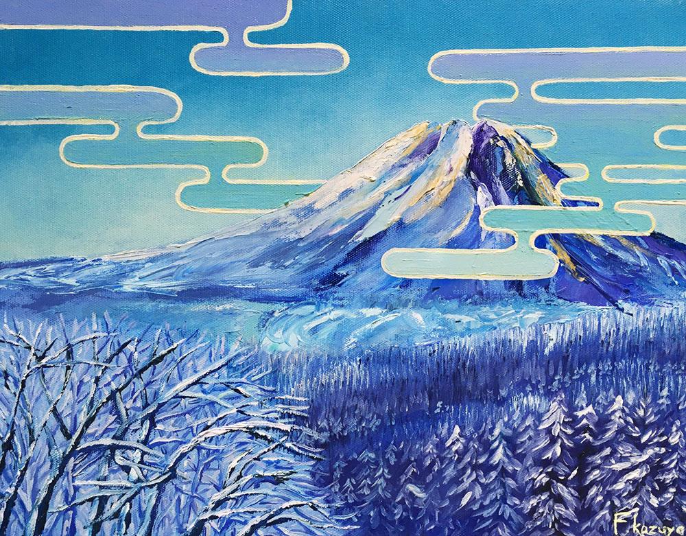 「冬の富士」