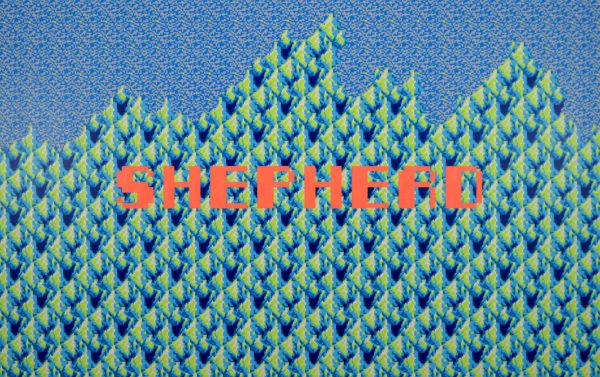 「Pixel Painting 2 (SHEPHERD)」