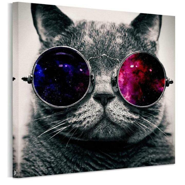 アートパネル猫