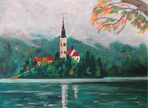 「ヨーロッパの湖」