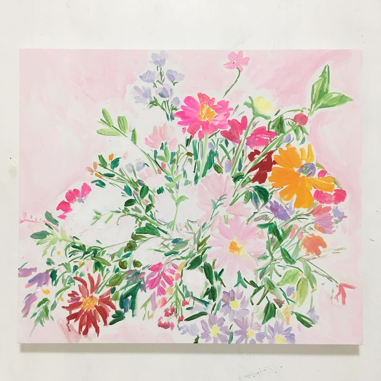 「両手にいっぱいの花」