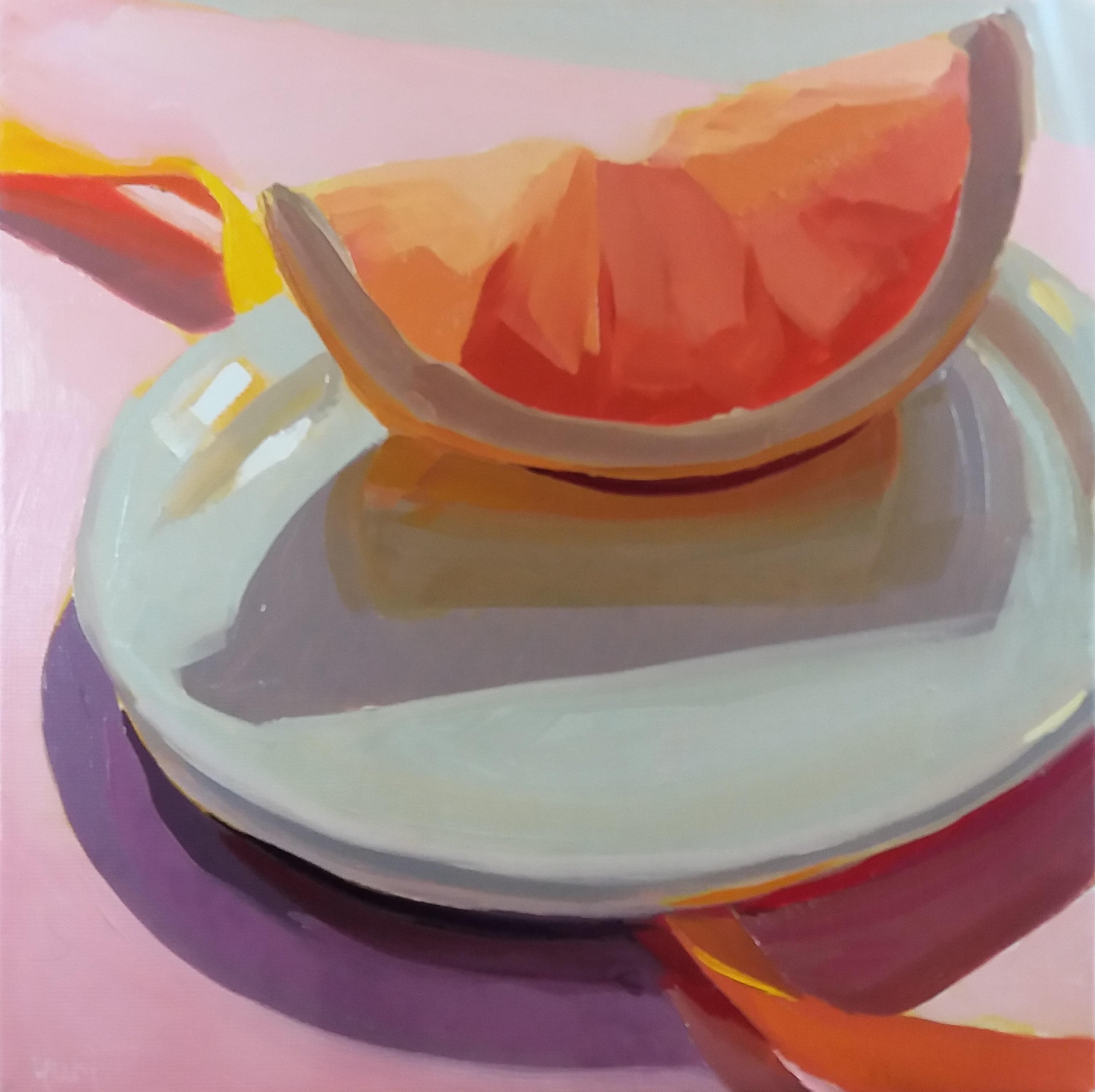 「Grapefruits and Yellow Ribbon」