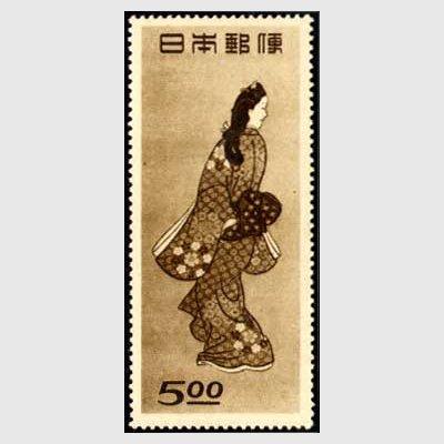 見返り美人図の記念切手